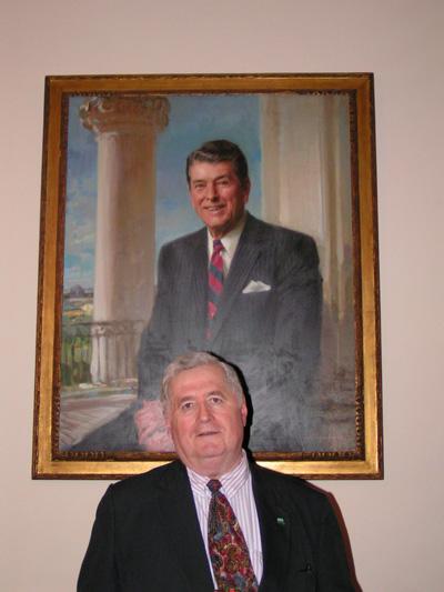 Ronald Reagan White House Portrait